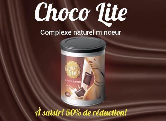 Choco Lite – Avis – Prix – Où acheter le produit amincissant